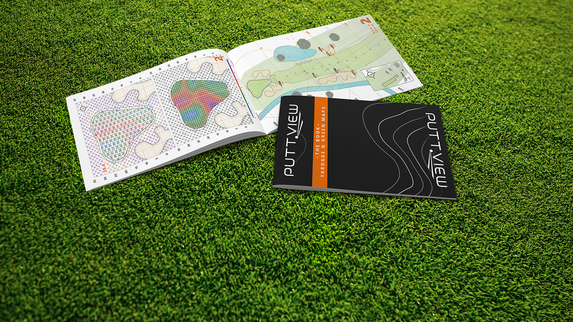 PuttView Books is the newest addition to the company's portfolio. The yardage and green books are USGA Legal and were developed with the help of Phil Kenyon . © puttview.com