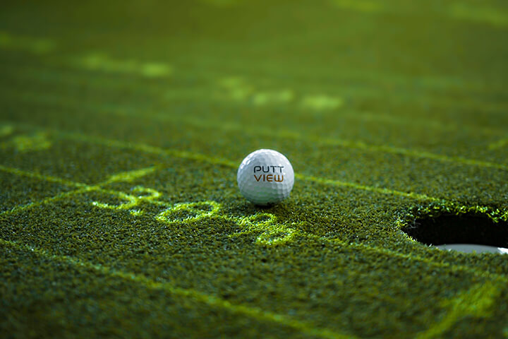 Our contour lines and slope percentages give you a better understanding of green-reading. ©puttview.com
