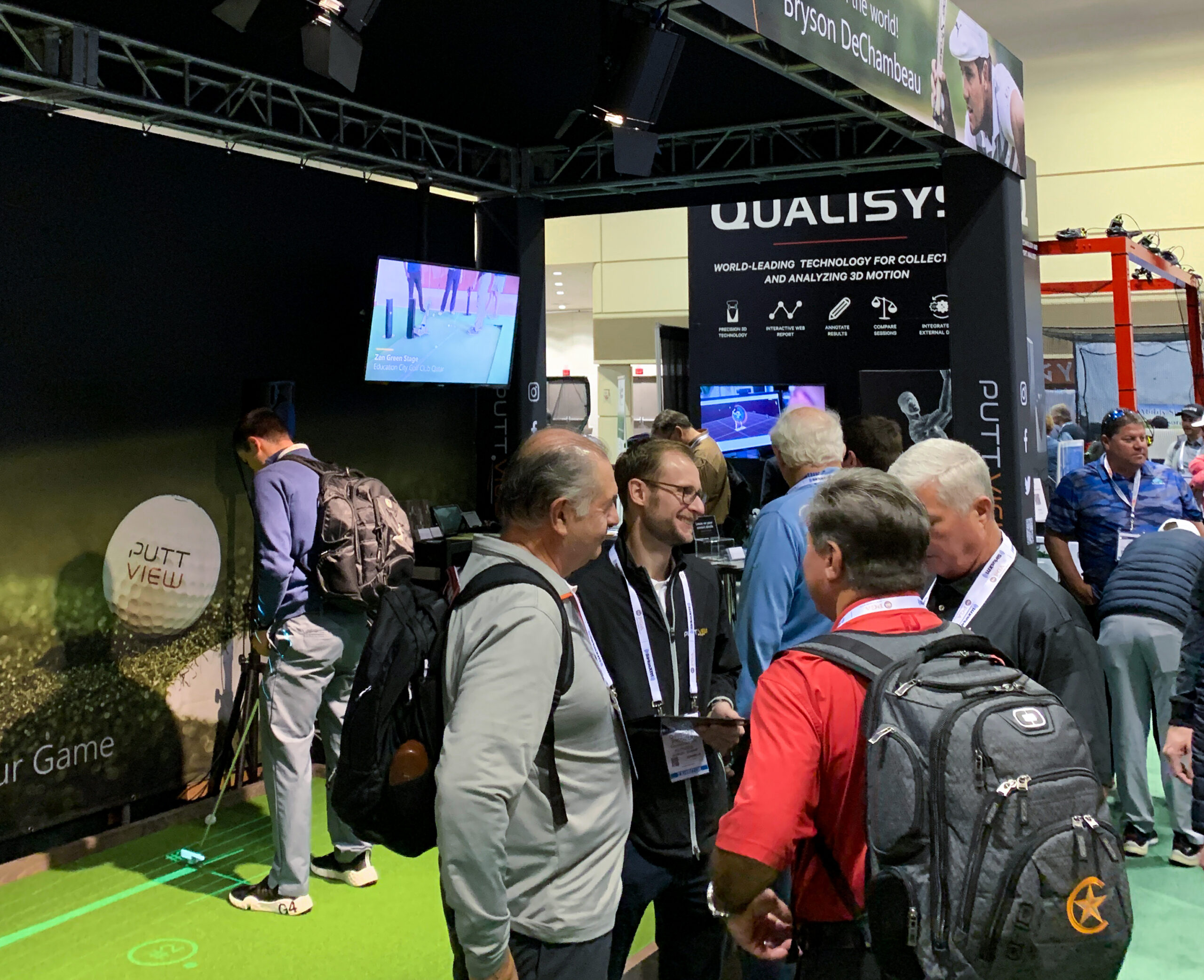 PuttView creates a buzz, everywhere it goes. The technology is engaging and fun, yet it brings real results in an easy learning environment. © puttview.com